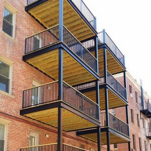 Commercial and Residential Steel Balconies and Railings in Washington DC