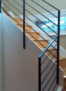 Modern Steel Handrails in MD, VA and Washington DC