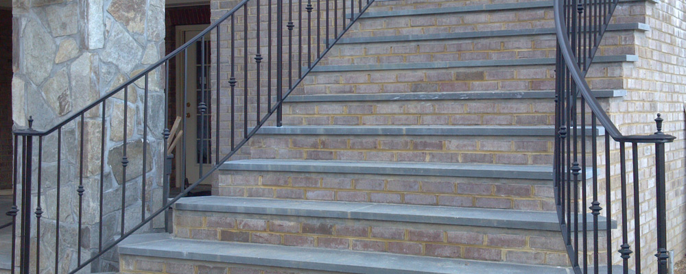 Wrought Iron Handrails in Virginia