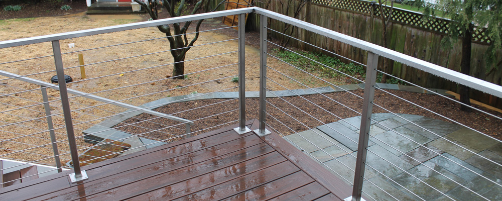Wrought Iron Handrails And Balconies In Va Stainless Steel Cable Rails Md By Urbana Ironworks