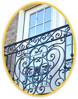 Wrought Iron Railings and Balconies in MD
