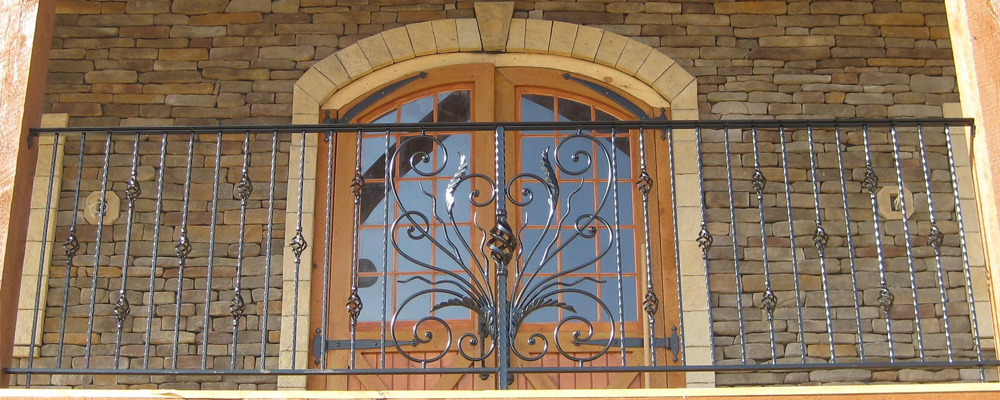 Wrought Iron Handrails and Balconies in VA